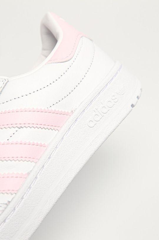 biela adidas Originals - Topánky Team Court