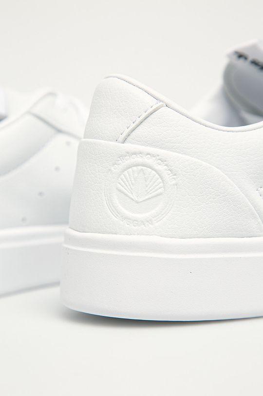 biela adidas Originals - Topánky Sleek