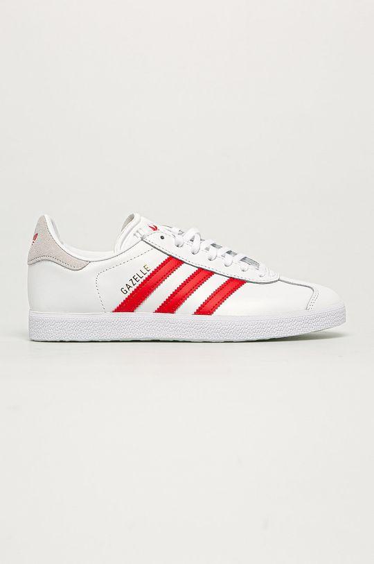 biały adidas Originals - Buty Gazele Damski