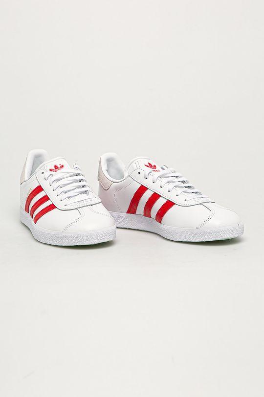 adidas Originals - Buty Gazele biały