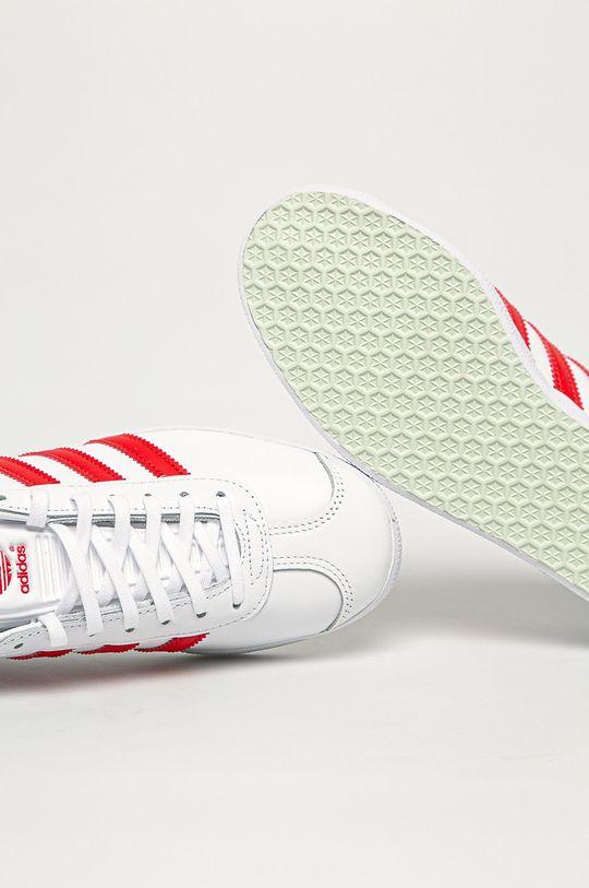 biały adidas Originals - Buty Gazele