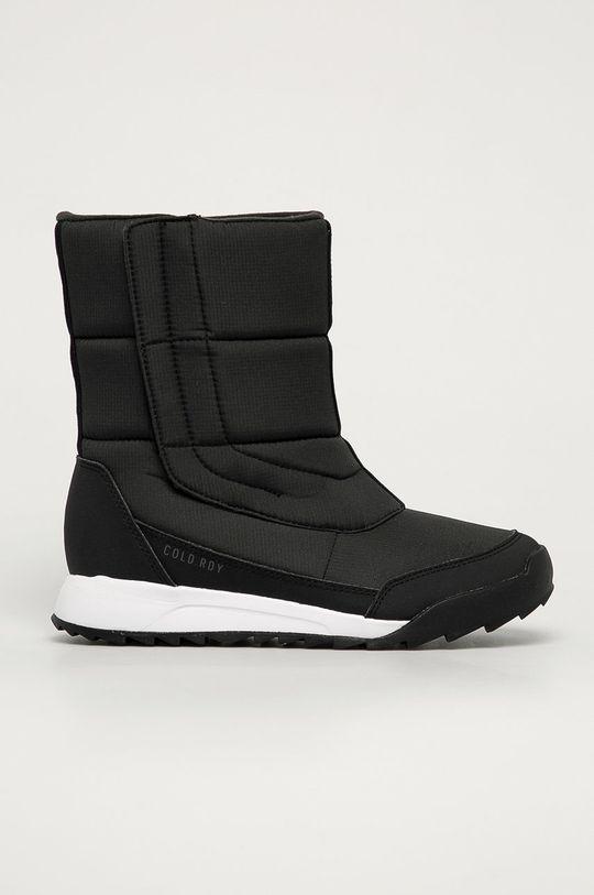 czarny adidas Performance - Śniegowce Terrex Choleah Damski