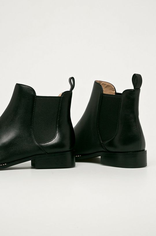 Coach - Kožené topánky Chelsea Nichole  Zvršok: Textil, Prírodná koža Vnútro: Syntetická látka Podrážka: Syntetická látka