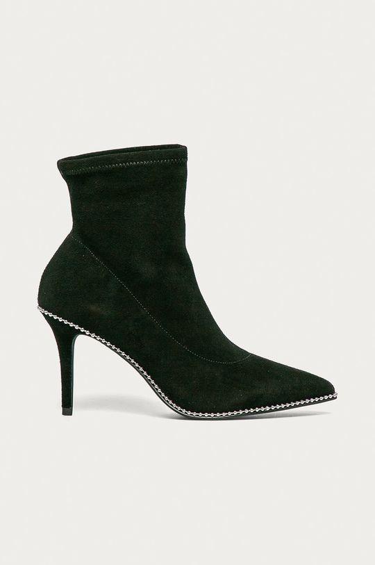 černá Coach - Semišové boty Dámský
