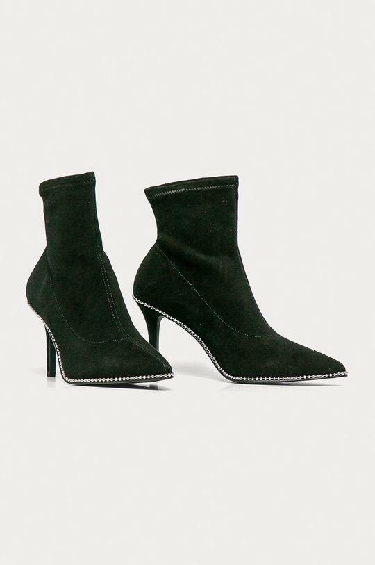 Coach - Semišové boty černá