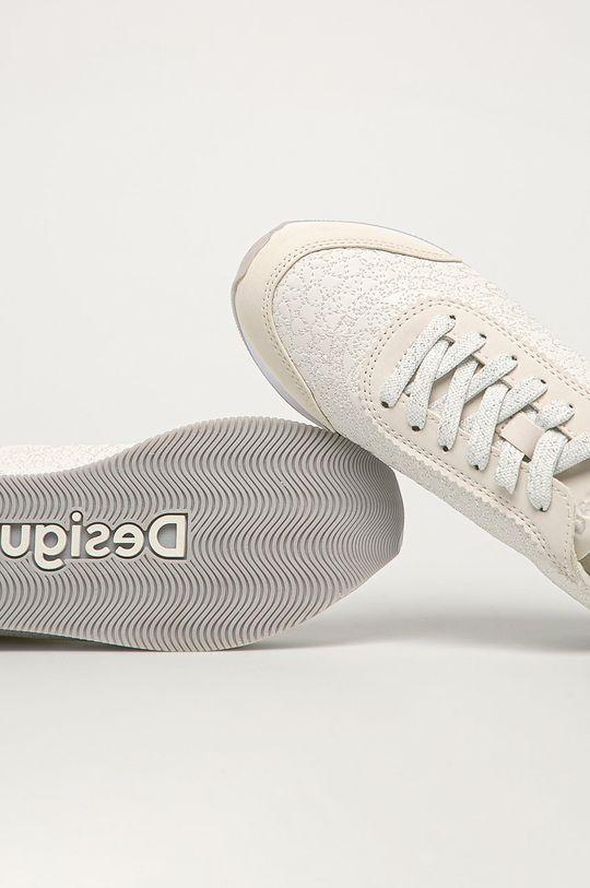 alb Desigual - Pantofi