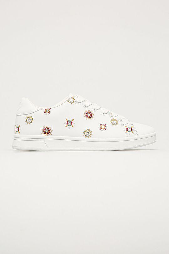 alb Desigual - Pantofi De femei