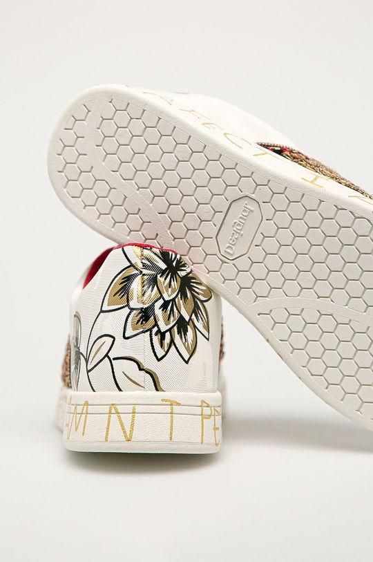 Desigual - Pantofi  Gamba: Material sintetic, Material textil Interiorul: Material textil Talpa: Material sintetic