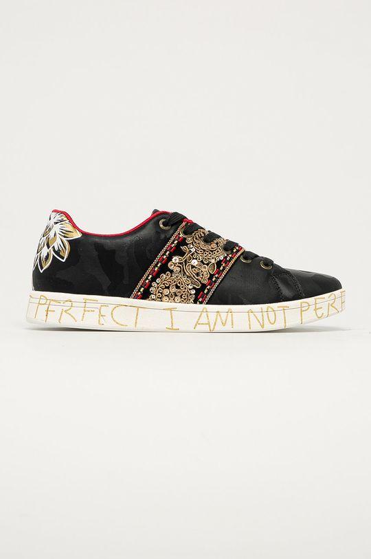 negru Desigual - Pantofi De femei