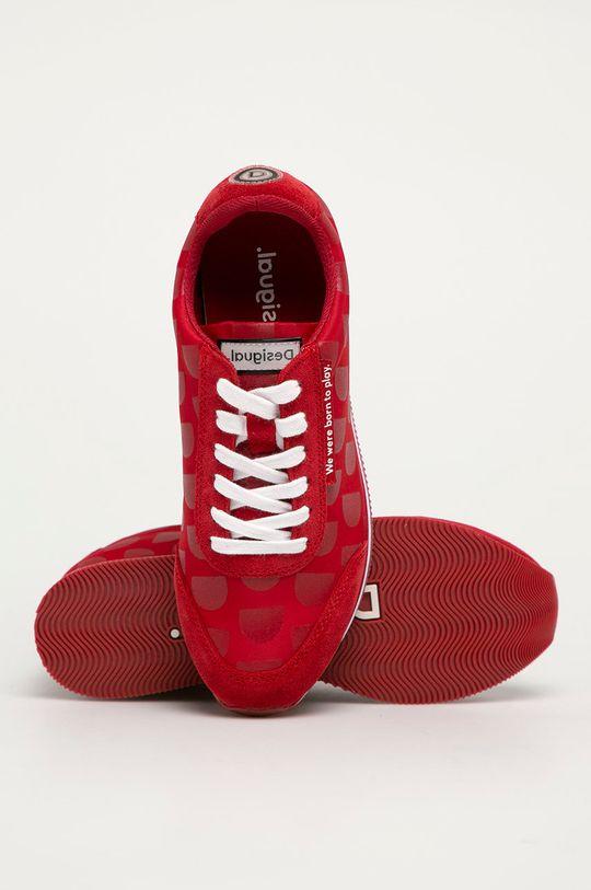 červená Desigual - Boty