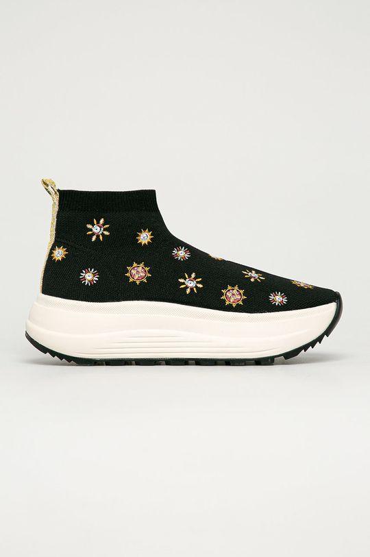 čierna Desigual - Topánky Dámsky