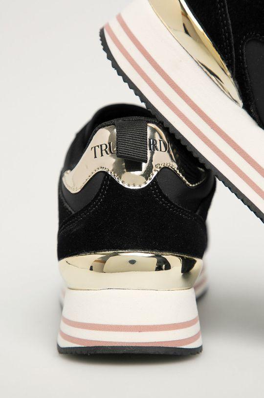 Trussardi Jeans - Pantofi  Gamba: Material textil, Piele intoarsa Interiorul: Material textil Talpa: Material sintetic