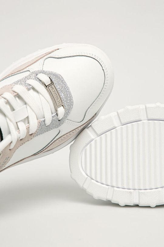 alb Trussardi Jeans - Pantofi