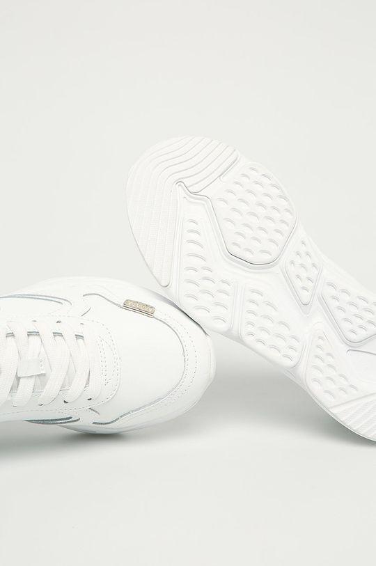 alb Trussardi Jeans - Ghete de piele