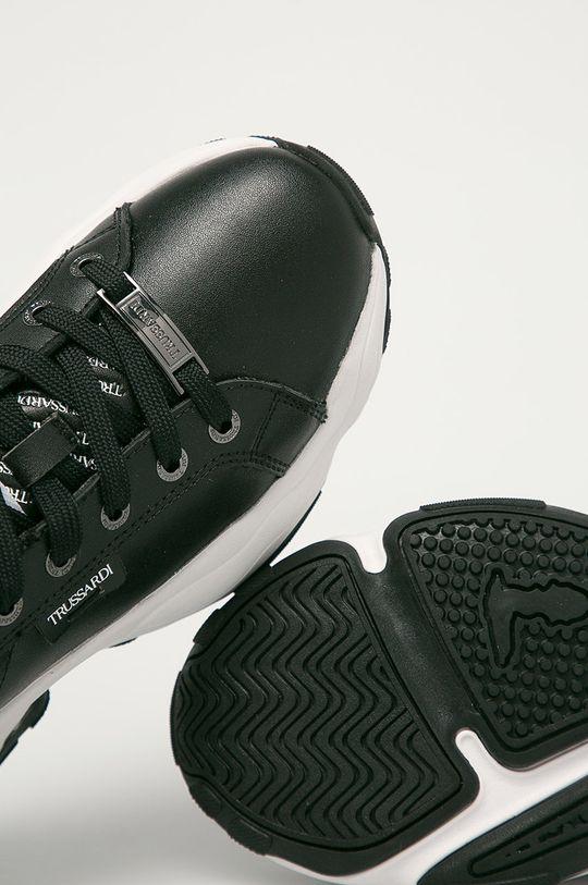 negru Trussardi Jeans - Ghete de piele