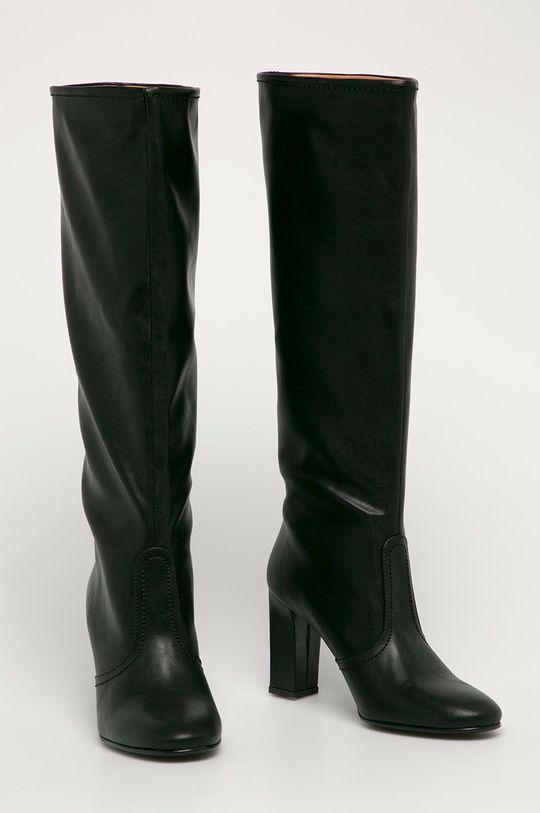 Trussardi Jeans - Kozačky černá