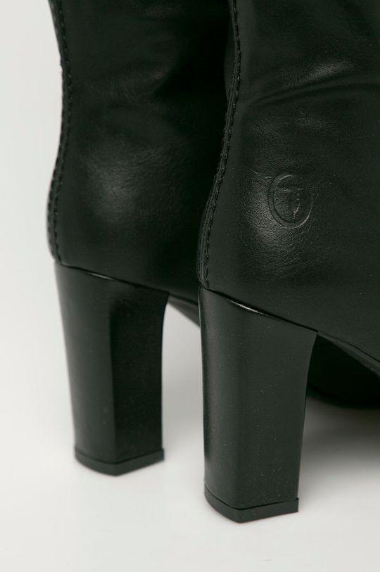 černá Trussardi Jeans - Kozačky