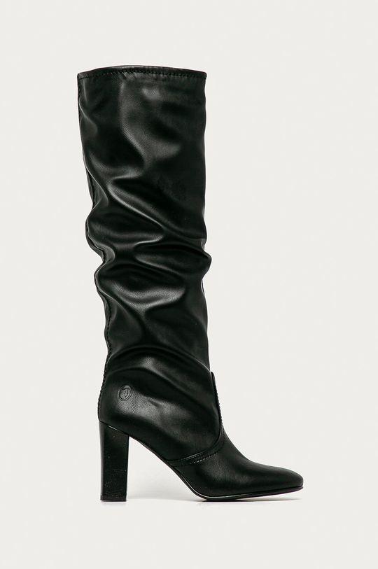 černá Trussardi Jeans - Kozačky Dámský