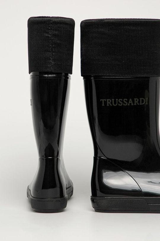 Trussardi Jeans - Cizme  Gamba: Material sintetic Interiorul: Material sintetic, Material textil Talpa: Material sintetic