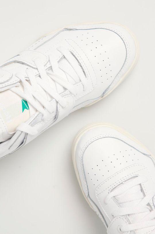 Reebok Classic - Kožené boty Workout Lo Plus bílá