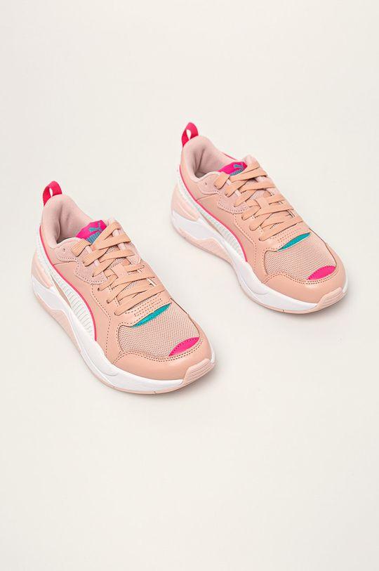 Puma - Черевики X-Ray Game пастельно-рожевий