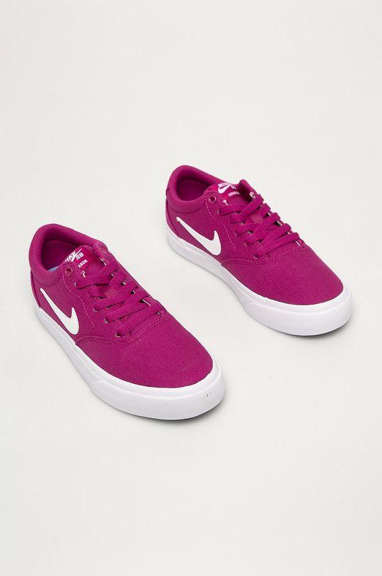 Nike Sportswear - Pantofi WMNS SB Charge CNVS roz ascutit