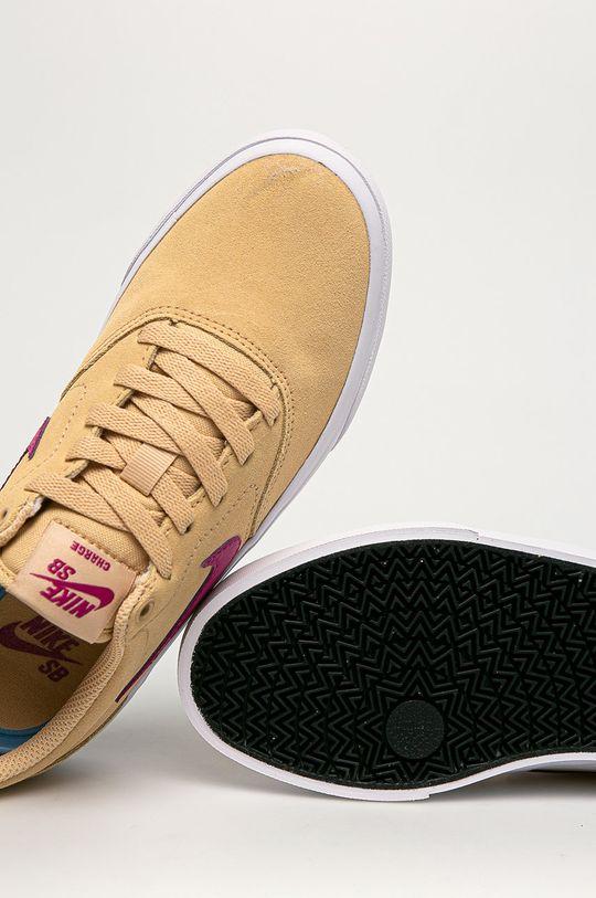 de grau Nike Sportswear - Ghete de piele SB Charge Suede