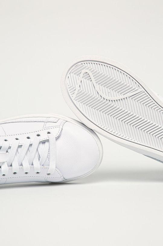 biały Nike Sportswear - Buty skórzane Blazer Low LE