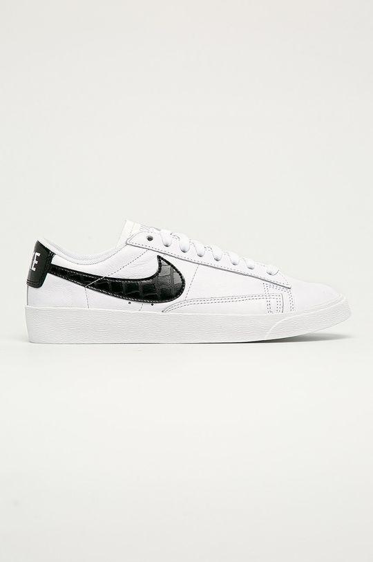alb Nike Sportswear - Ghete de piele Blazer Low De femei