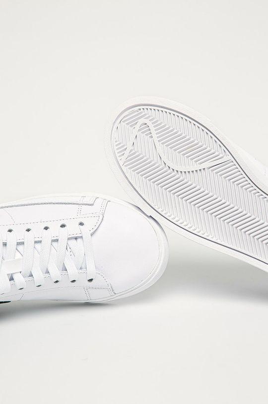 alb Nike Sportswear - Ghete de piele Blazer Low