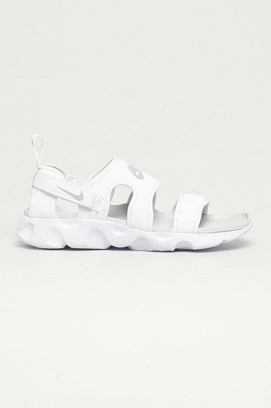biały Nike Sportswear - Sandały Owaysis Damski