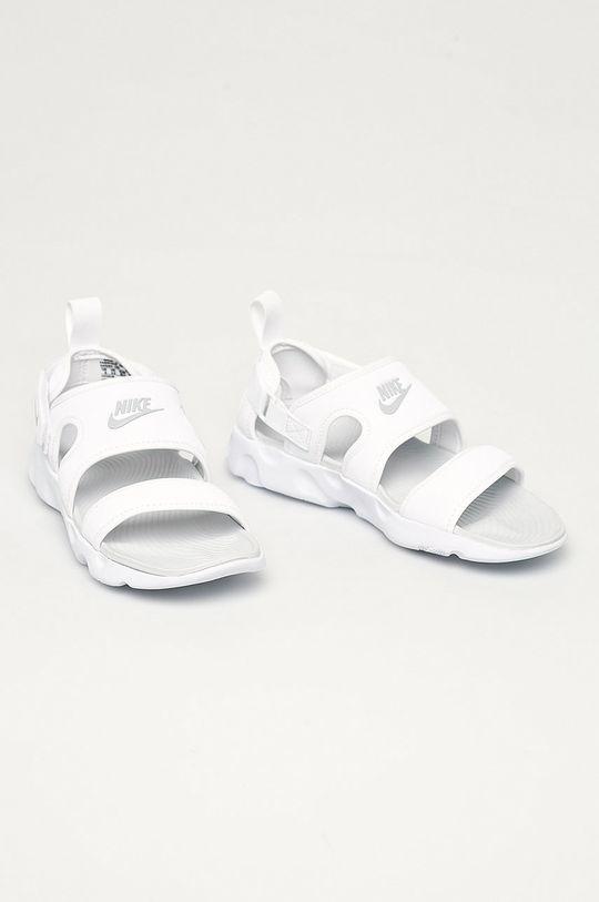 Nike Sportswear - Sandały Owaysis biały