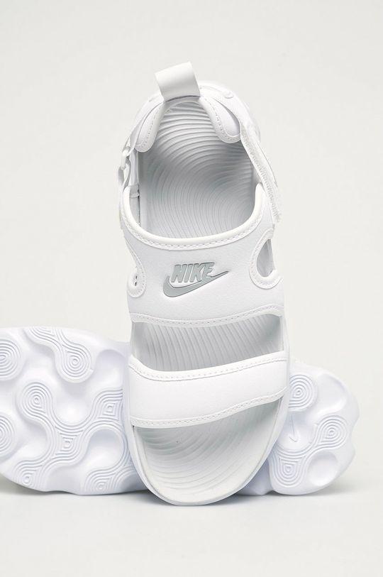 biały Nike Sportswear - Sandały Owaysis