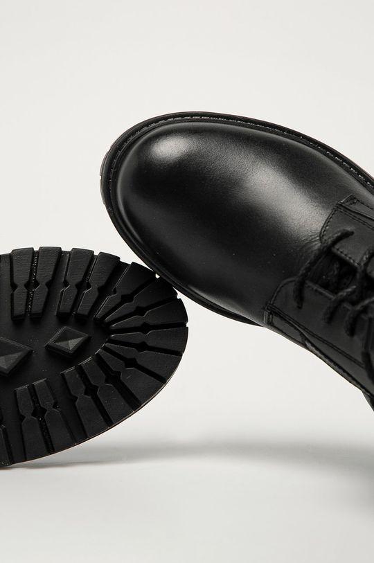 negru Twinset - Bocanci de piele