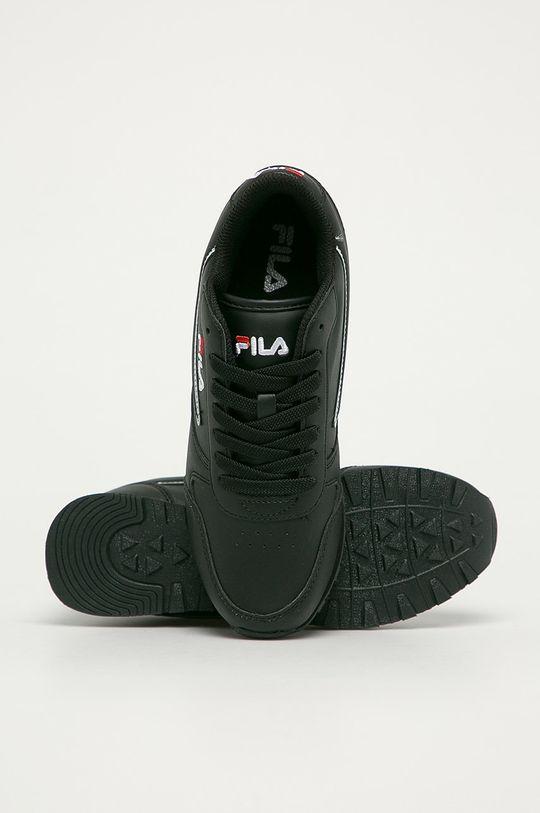 czarny Fila - Buty Orbit low