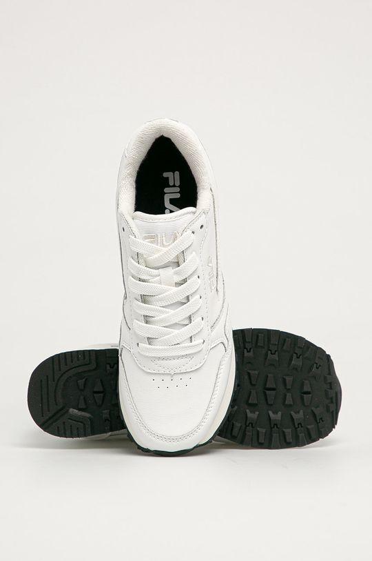 biały Fila - Buty skórzane Orbit Zeppa L
