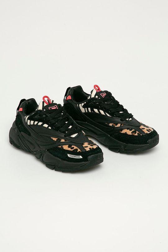 Fila - Buty skórzane Venomrush czarny