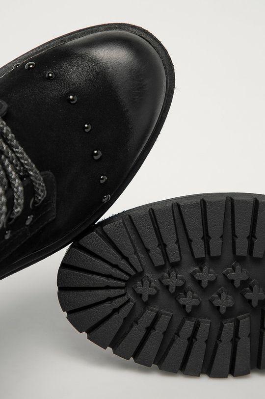 čierna Wrangler - Členkové topánky