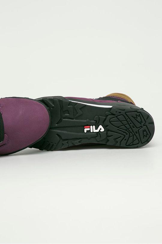 fioletowy Fila - Buty Grunge II
