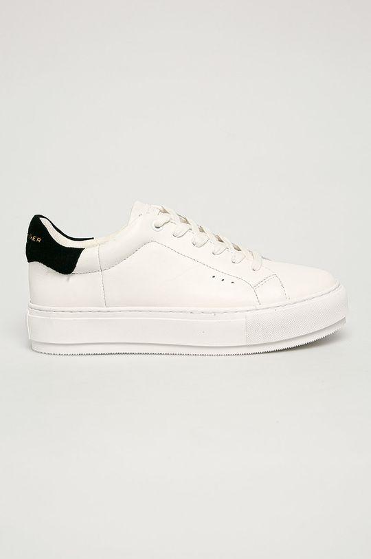 biela Kurt Geiger London - Kožená obuv Laney Dámsky