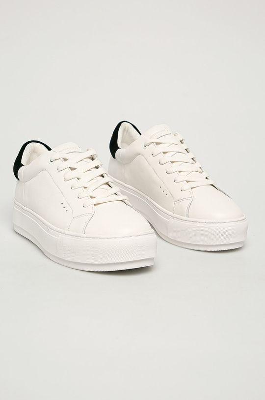 Kurt Geiger London - Kožená obuv Laney biela
