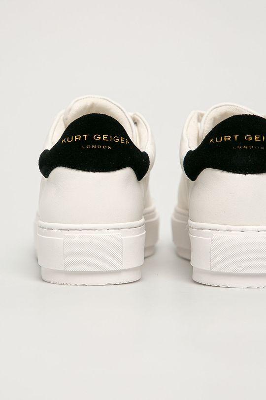 biela Kurt Geiger London - Kožená obuv Laney
