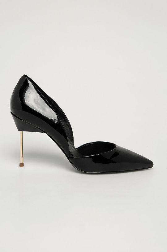 negru Kurt Geiger London - Stilettos de piele Bond De femei