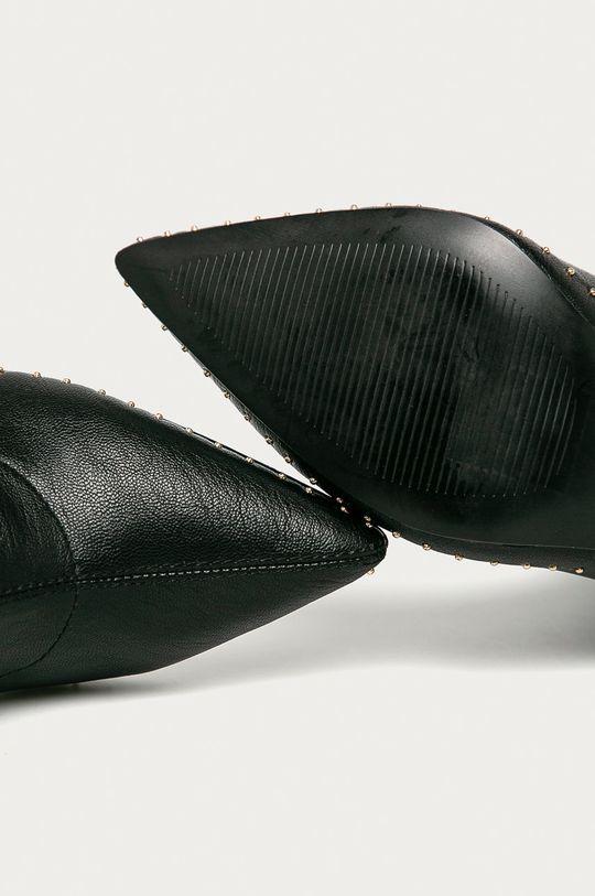 černá Kurt Geiger London - Kozačky