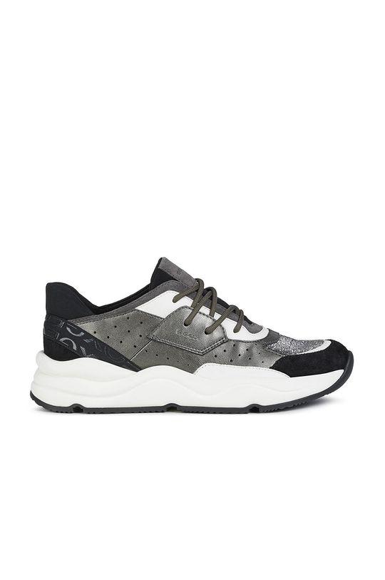 čierna Geox - Kožená obuv Dámsky