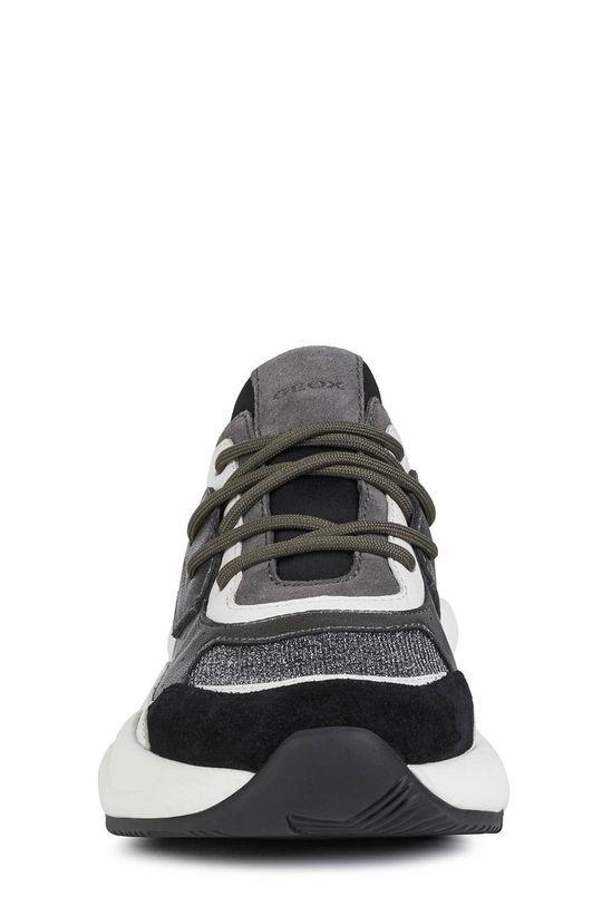 Geox - Kožená obuv  Zvršok: Prírodná koža Vnútro: Textil, Prírodná koža Podrážka: Syntetická látka