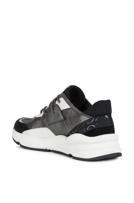 čierna Geox - Kožená obuv