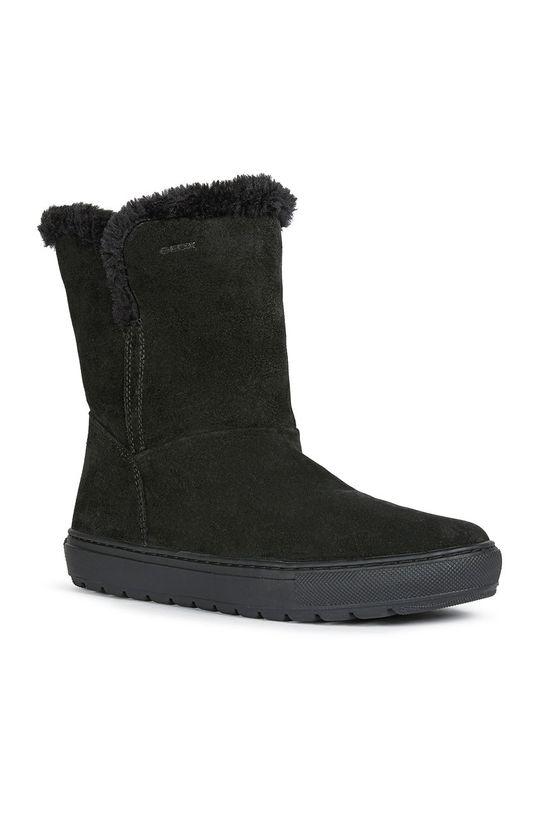 Geox - Členkové topánky čierna