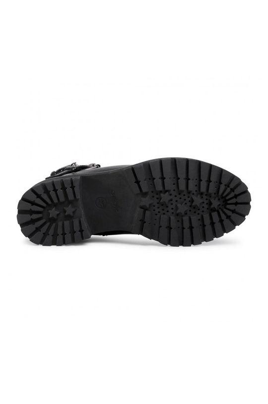 Geox - Kožené členkové topánky Dámsky