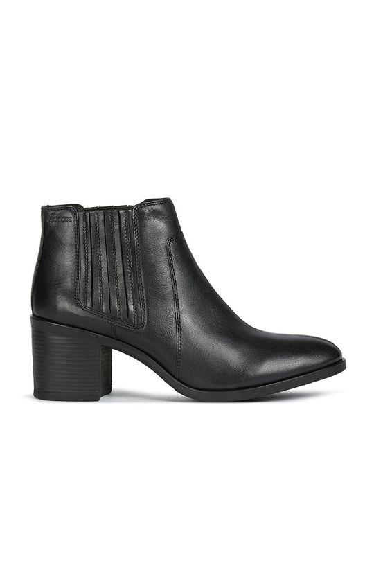 čierna Geox - Semišové topánky Dámsky